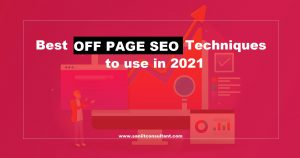 Best OFF PAGE SEO techniques to use in 2021
